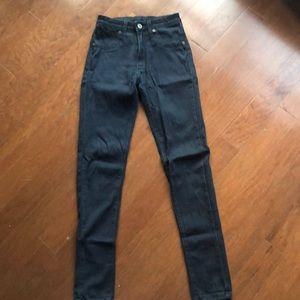 Carmar skinny high rise jeans, dark blue